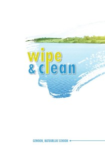 Wipe & Clean - brochure over reinigingsmiddel